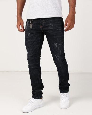 KSTR Haagen Jeans Blue Black