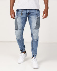 KSTR Benito Jeans Blue Marble