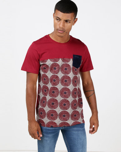 Klevas Morena T-Shirt Burgundy