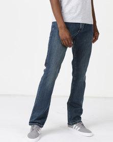 Soviet M Mario 2 #12 Straight Leg Rigid Denim Jeans ndigo