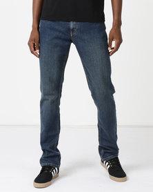 Soviet M Bauer Slim Leg Denim #9 Jeans Light Indigo