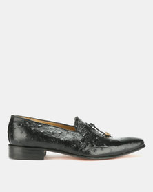Crockett & Jones Emu Black