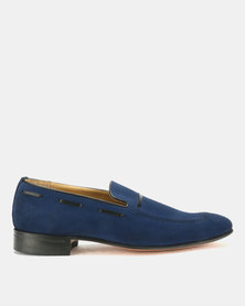 Crockett & Jones Suede Ocean