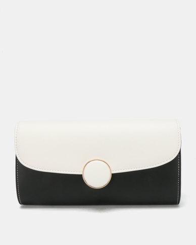 New Look Clancy Circular Clutch Bag Black