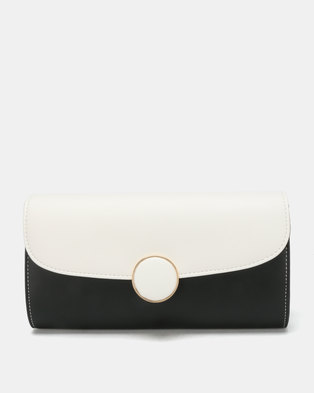 New Look Clancy Circular Clutch Bag Black