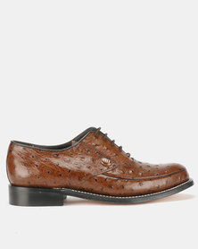 Barker Emu Lace Ups Brown