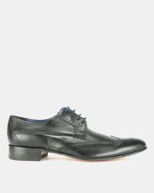 Barker Royal Calf Lace Ups Black