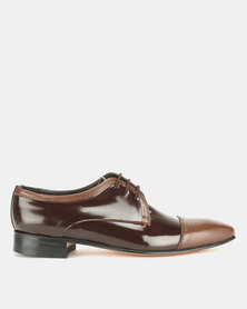 Barker Status Lace Ups Brown
