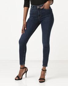 New Look Super Skinny 'Lift & Shape' Jeans Blue Rinse Wash