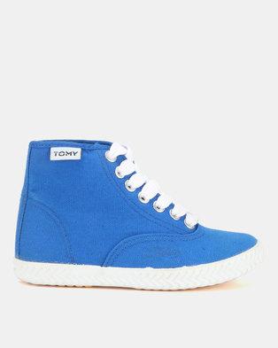 ae91a6ea8b09 Tomy Takkies Original Hi Top Sneakers Blue