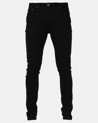 New Look Super Skinny Stretch Jeans Black
