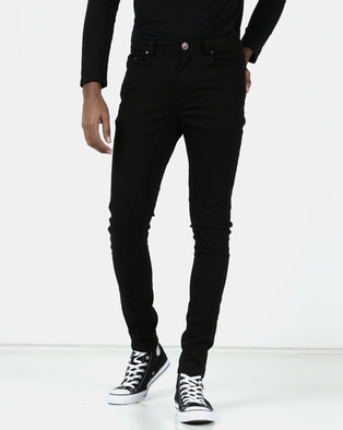 New Look Super Skinny Stretch Jeans Black