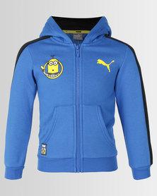 Puma Sportstyle Core Minions Hooded Jacket Lapis Blue