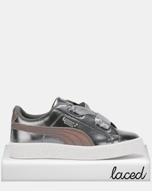 Puma Sportstyle Core Basket Heart Lunar Lux PS Sneakers Smoked Pearl