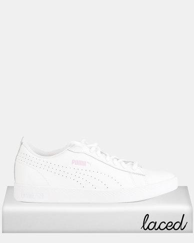 44e9d347250 Puma Sportstyle Core Smash v2 L Perf Sneakers White