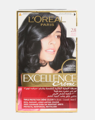 L'Oreal Excellence Blue Black (Intense) 2.8