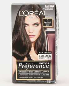 L'Oreal Preference Darkest Brown 3