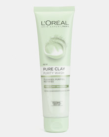 L'Oreal Extraordinary Clay Cream Wash Purify 150ml