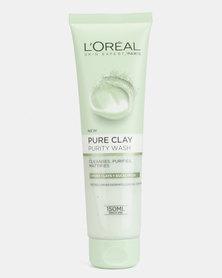 L'Oreal Extraordinary Clay Cream Wash Purify 150ml