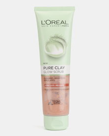 L'Oreal Extraordinary Clay Scrub Wash Clarify 150ml