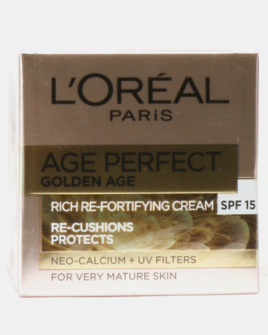 L'Oreal Age Perfect Gold Age Re-Fortifying Cream SPF 15 50 ml