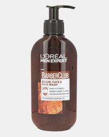 L'Oreal Men Expert Barber Club Beard, Face & Hair Wash 200ml