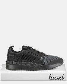 Puma Sportstyle Core Pacer Next Net Sneakers Puma Black-Puma Black