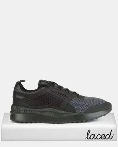 daf053c298ad17 Puma Sportstyle Core Pacer Next Net Sneakers Puma Black-Puma Black ...