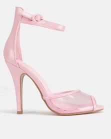 Dolce Vita Nolan Ankle Strap Heels Pink