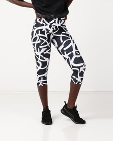 Puma Sportstyle Core Urban Sports 3/4 Leggings Black