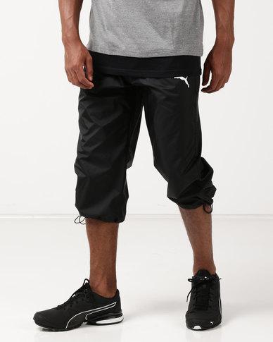 Puma Sportstyle Core ESS Woven 3 4 Pants Black
