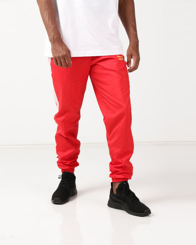 new style afdd3 02cf9 Puma Sportstyle Prime T7 BBoy Track Pants Red