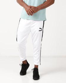 Puma Sportstyle Prime Archive T7 Summer Pants White
