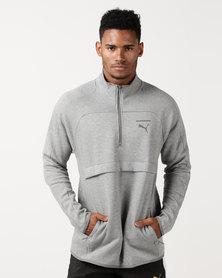 Puma Sportstyle Prime Pace Primary Savannah Jacket Grey