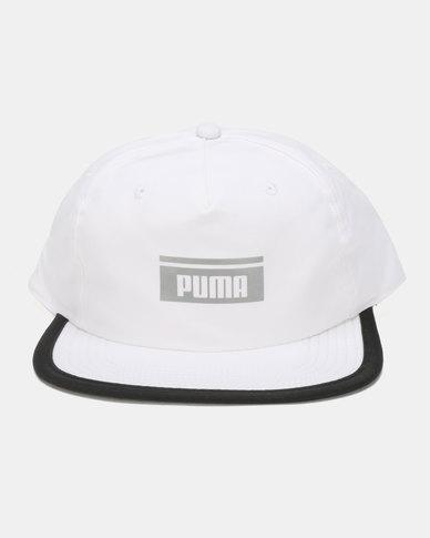 e8ad1e6d6caef Puma Sportstyle Prime Pace Fb Cap White