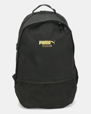more photos 005eb 60fec Puma Sportstyle Prime Suede Backpack Black