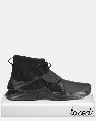new product b3471 9124f Puma Performance The Trainer Hi by Fenty Mens Sneakers Puma Black