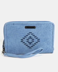 Rip Curl SOL Oversized Wallet Blue