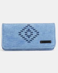 Rip Curl SOL C Book Wallet Denim Blue