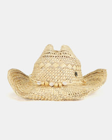 Rip Curl Saity Straw Hat Natural