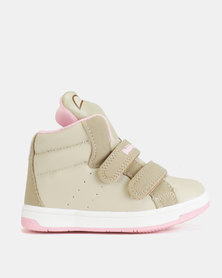 Bubblegummers Girls Sneakers Beige