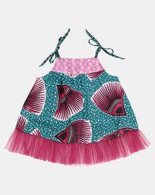 Kieke Printed Top Pink