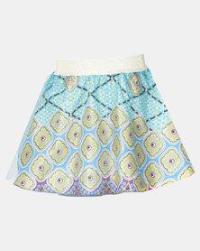 Kieke Printed Skirt Overlay Multi