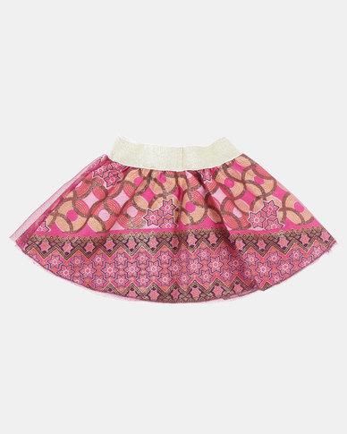 Kieke Printed Skirt Ovelay Multi