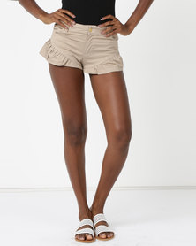 Rip Curl Frill Ride Shorts Neutral