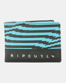 Rip Curl Distort PU Slim Wallet Blue