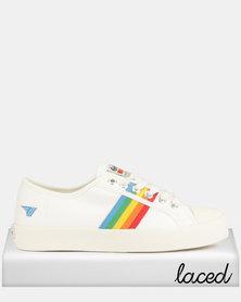 Gola Coaster Sneakers Rainbow White