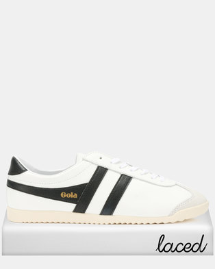 a1fb28c7f53 Gola Bullet Leather Sneakers White Black