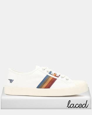 aa0506c2af2 Gola Coaster Spectrum Sneakers Off White Multi