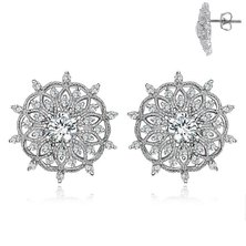 Dhia Mandala Earrings and Necklace Set